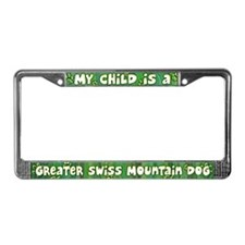 My Kid Greater Swiss Mountain License Plate Frame