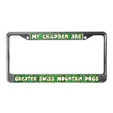 My Children Greater Swiss License Plate Frame