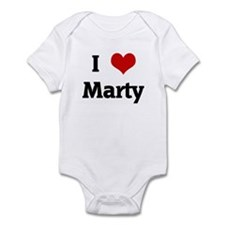 I Love Marty Infant Bodysuit