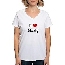 I Love Marty Shirt