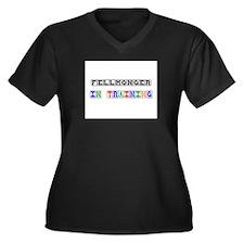 Fellmonger In Training Women's Plus Size V-Neck Da