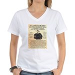 John Wilkes Booth Women's V-Neck T-Shirt