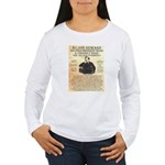 John Wilkes Booth Women's Long Sleeve T-Shirt