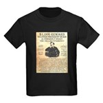 John Wilkes Booth Kids Dark T-Shirt
