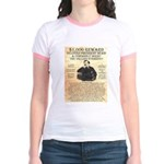 John Wilkes Booth Jr. Ringer T-Shirt