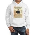 John Wilkes Booth Hooded Sweatshirt
