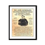 John Wilkes Booth Framed Panel Print