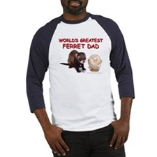 Ferret Dad - Baseball Jersey