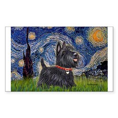 Starry - Scotty (#15) Sticker (Rectangle 50 pk)