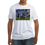 Starry - Scotty (#15) Fitted T-Shirt