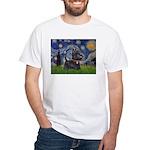 Starry - Scotty (#15) White T-Shirt