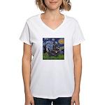 Starry - Scotty (#15) Women's V-Neck T-Shirt
