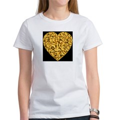 Goldleaf Soul Heart Women's T-Shirt