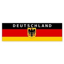 "Germany ""Deutschland"" Car Bumper Sticker"