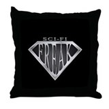 SCIFI SuperFreak(metal) Throw Pillow