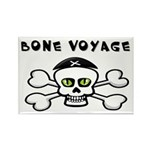 Skull Rectangle Magnet (10 pack)