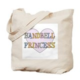 Handbells Princess Tote Bag