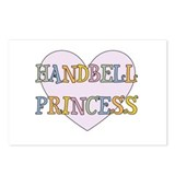 Handbells Princess Postcards (Package of 8)