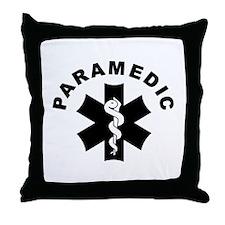 Paramedic Star Of Life Throw Pillow