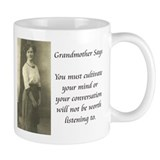 Grandmother Says 8 Mug