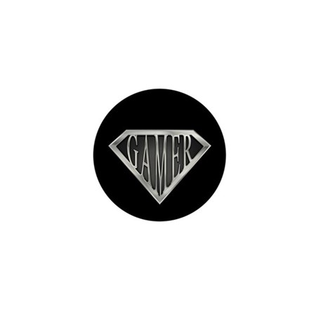 SuperGamer(metal) Mini Button (10 pack)