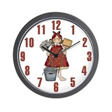 Princess in Training Wall Clock