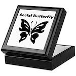 Social Butterfly Keepsake Box