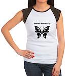 Social Butterfly Women's Cap Sleeve T-Shirt