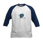 elephant Kids Baseball Jersey