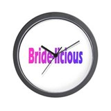 Bridelicious Wall Clock