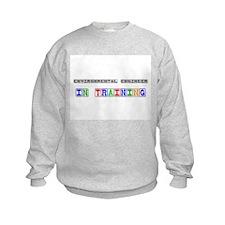 Environmental Engineer In Training Kids Sweatshirt