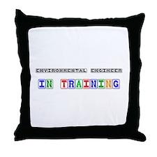 Environmental Engineer In Training Throw Pillow