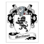 Mortimer Family Crest Small Poster