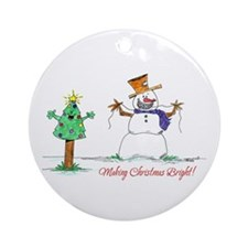 Ortho Kids Ornament (Round)
