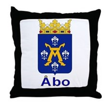 The Åbo Store Throw Pillow
