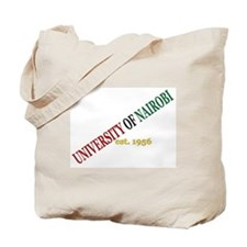 UON Diagonal Tote Bag
