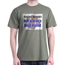 Kooiker Hounds man's best friend T-Shirt