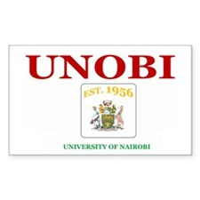UON UNOBI Rectangle Sticker 10 pk)