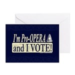 I'm Pro Opera Greeting Cards (Pk of 10)