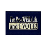 I'm Pro Opera Rectangle Magnet (10 pack)