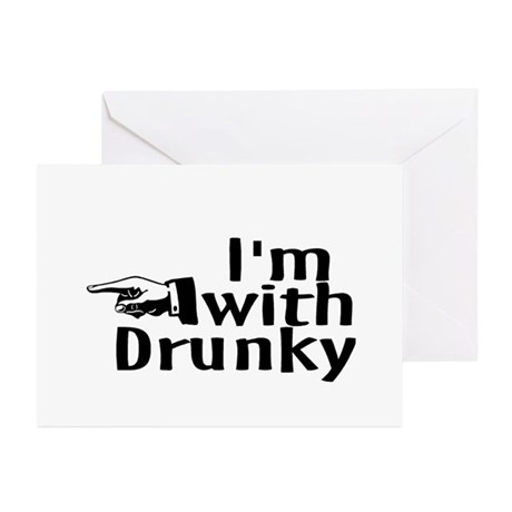 Drinks Well With Others Greeting Cards (Pk of 20)
