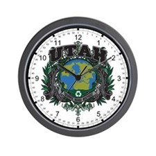 Utah Green Pride Wall Clock
