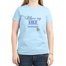 I Love My OEF Vet (Army) T-Shirt