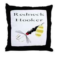 Redneck Hooker Throw Pillow