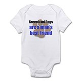 Greenland Dogs man's best friend Infant Bodysuit