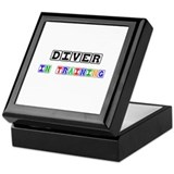 Diver In Training Keepsake Box