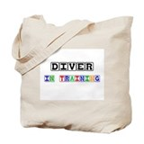 Diver In Training Tote Bag