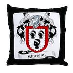 Murison Family Crest Throw Pillow