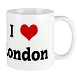 I Love London Small Mug