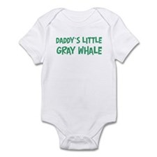 Daddys little Gray Whale Infant Bodysuit